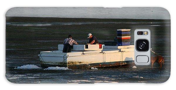 Fishermen And Dog Galaxy Case