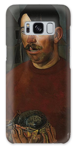 Russian Impressionism Galaxy Case - Fisherman by Celestial Images