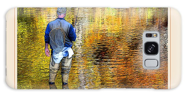 Galaxy Case - Fisherman In Autumn by A Gurmankin