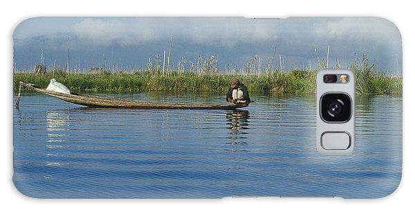 Fisherman On The Inle Lake Galaxy Case