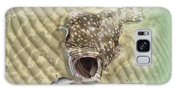 Fisherman's Post Flounder Galaxy Case