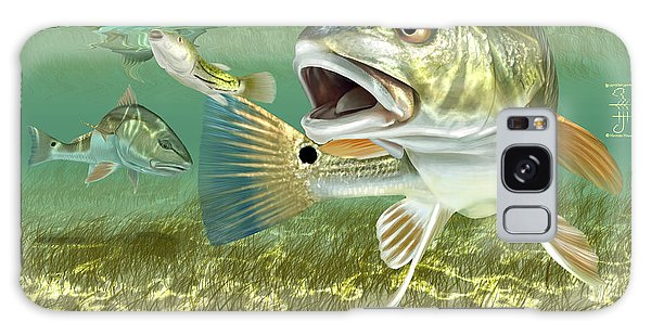 Fisherman's Post Redfish Galaxy Case