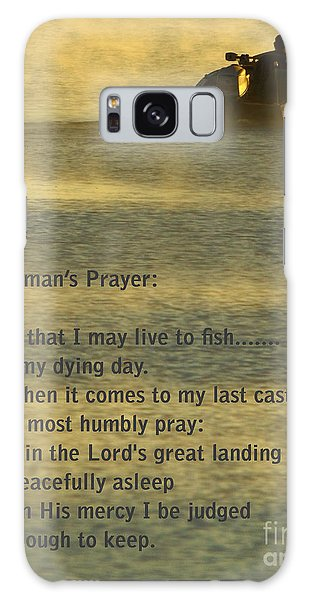 Fisherman's Prayer Galaxy Case