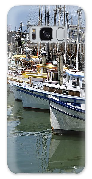 Fishermans Wharf Galaxy Case by Alex King