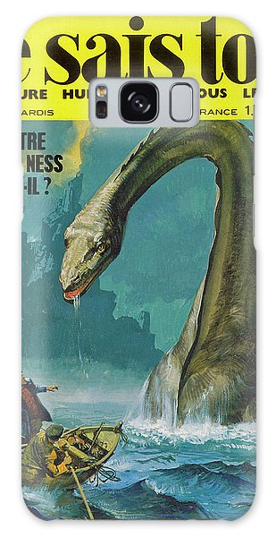 Folklore Galaxy Case - Fishermen On Loch Ness Are  Surprised by Mary Evans Picture Library