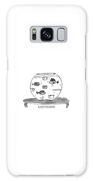 Fishes And Loaves Galaxy Case