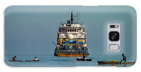 Fishing Around The Art Carlson On Anchor Galaxy Case