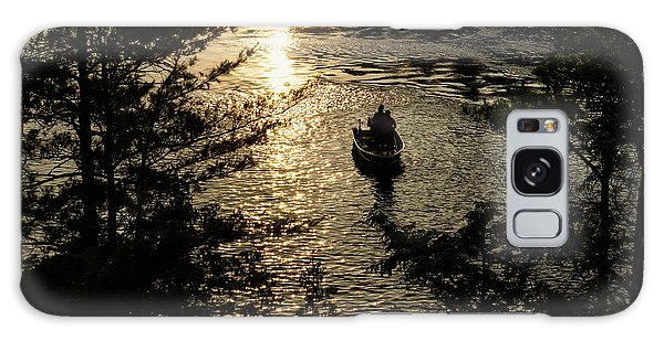 Fishing At Sunset - Thousand Islands Saint Lawrence River Galaxy Case