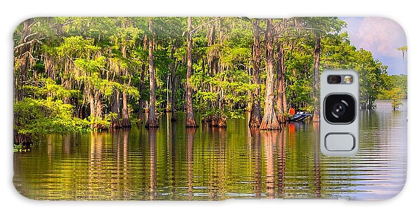 Fishing At The Bayou Galaxy Case