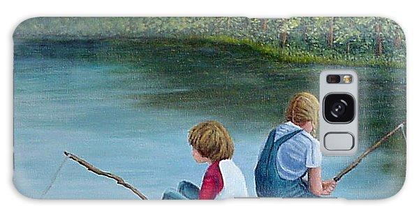 Fishing At The Lake Galaxy Case