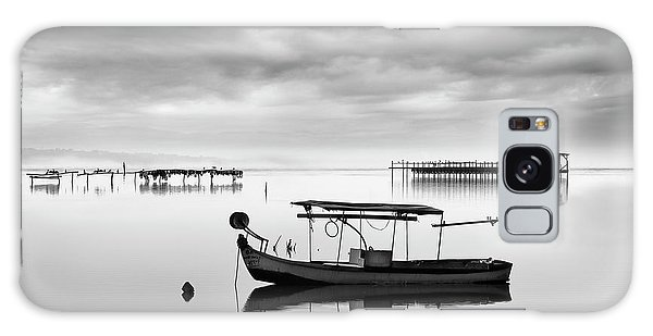 Pier Galaxy Case - Fishing Boat II by George Digalakis