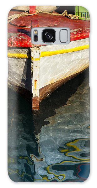 Fishing Boat In Greece Galaxy Case