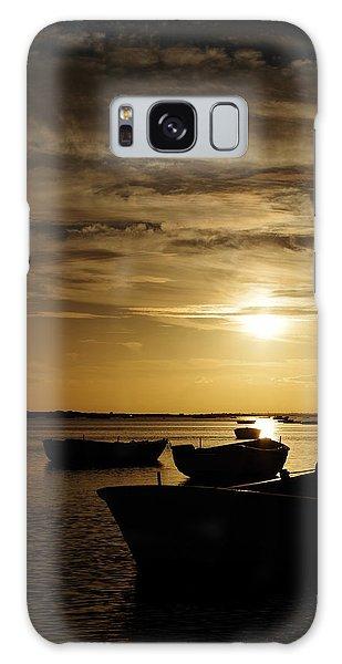 Fishing Boats In Cacela Velha Galaxy Case