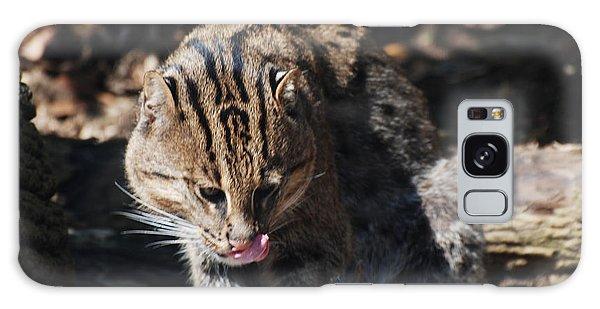 Fishing Cat Galaxy Case by DejaVu Designs