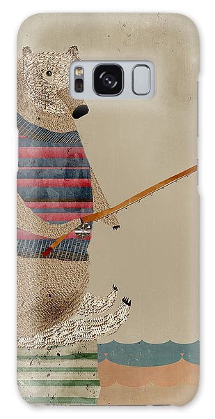 Fishing For Supper Galaxy Case