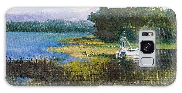 Galaxy Case - Fishing by Jane Woodward
