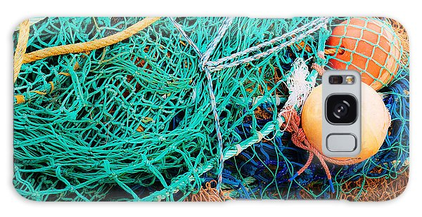 Fishing Nets And Floats Galaxy Case by Jane McIlroy