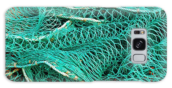 Fishing Nets Galaxy Case by Jane McIlroy