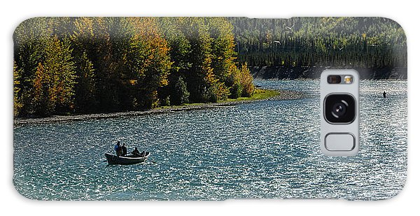 Fishing On The Kenai River Galaxy Case by Dyle   Warren