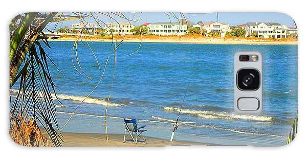 Fishing Paradise At The Beach By Jan Marvin Studios Galaxy Case