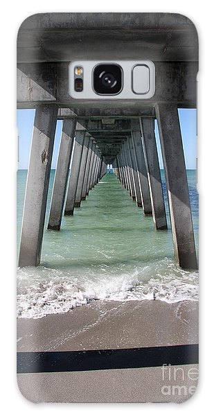 Fishing Pier Architecture Galaxy Case