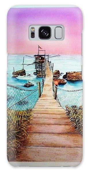 Fishing Pier Galaxy Case