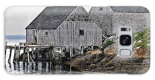Fishing Sheds At Peggy's Cove Galaxy Case