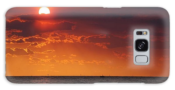 Fishing Till The Sun Goes Down Galaxy Case