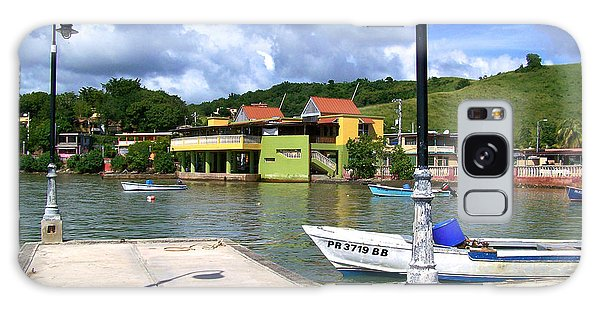 Fishing Village Puerto Rico Galaxy Case