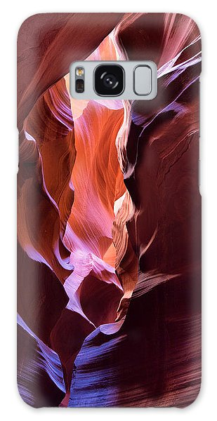Galaxy Case featuring the photograph Fissure by Brad Brizek