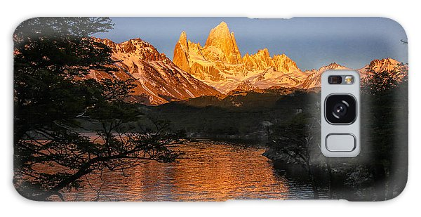 Fitz Roy Massif Galaxy Case by Gary Hall