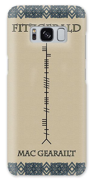 Fitzgerald Written In Ogham Galaxy Case