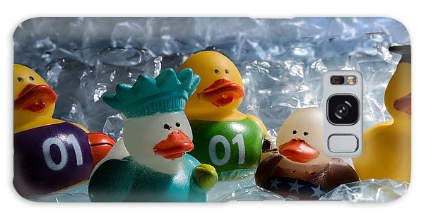 Five Ducks In A Row Galaxy Case