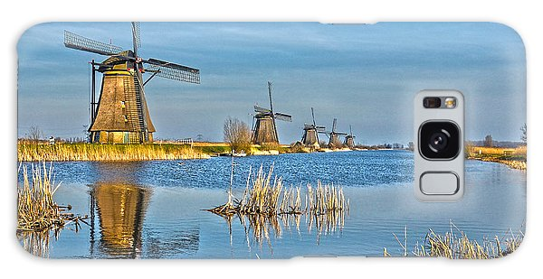 Five Windmills At Kinderdijk Galaxy Case