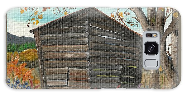 Autumn - Shack - Woodshed Galaxy Case