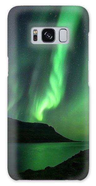 Iceland Galaxy S8 Case - Fjord Night by Karsten Wrobel