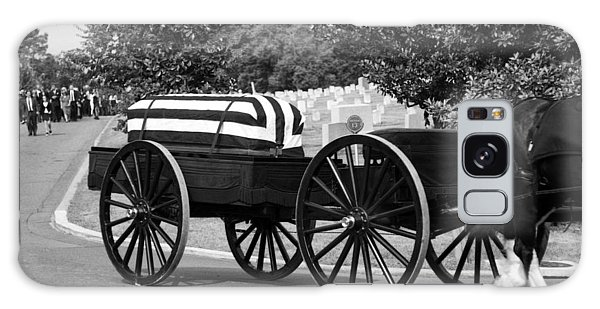 Flag Draped Casket At Arlington Galaxy Case
