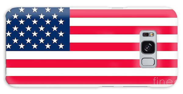 Horizontal Galaxy Case - Flag Of The United States Of America by Anonymous