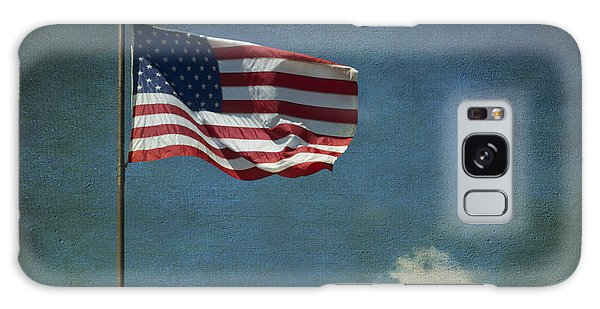 Flag - Still Standing Proud - Luther Fine Art Galaxy Case