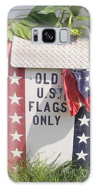 Flags Only Galaxy Case by Roger Swezey