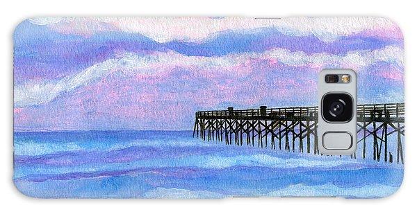 Flagler Beach Pier Galaxy Case