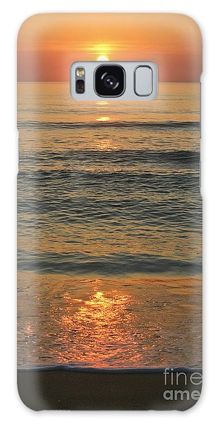 Flagler Beach Sunrise Galaxy Case