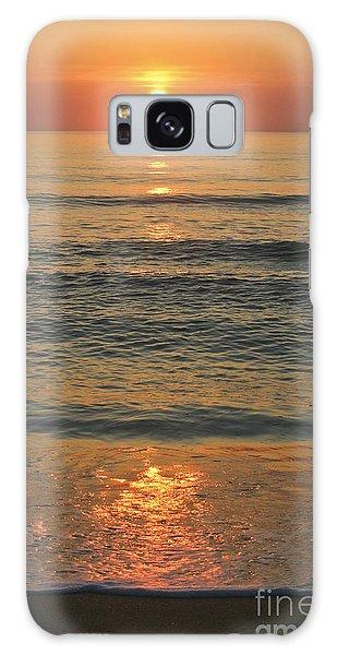 Flagler Beach Sunrise Galaxy Case