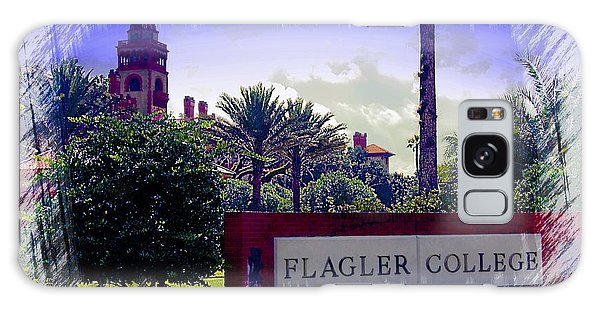Flagler College St Augustine Galaxy Case by Bob Pardue