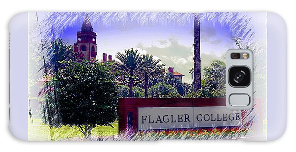 Flagler College St Augustine Galaxy Case