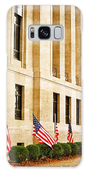 Flags At The Courthouse Galaxy Case