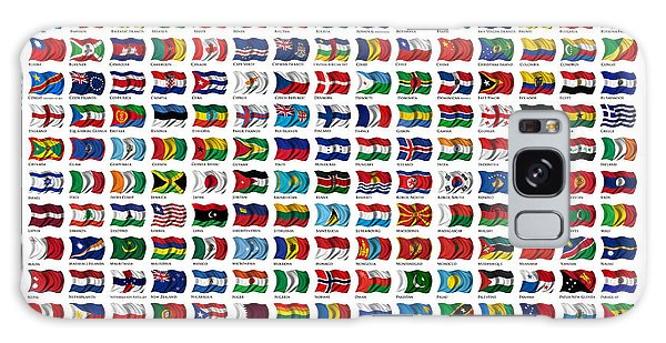 Flags Of The World Galaxy Case