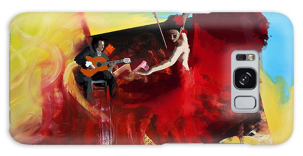 Tango Galaxy Case - Flamenco Dancer 016 by Catf