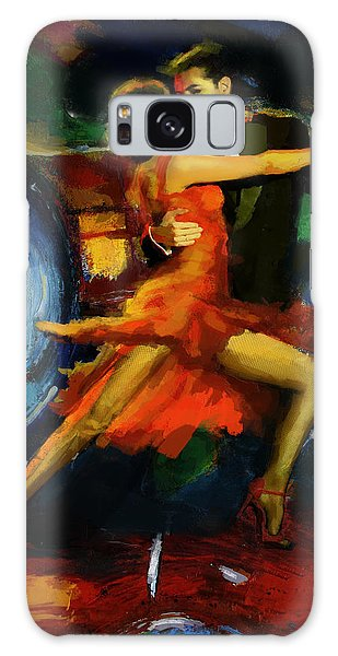 Tango Galaxy Case - Flamenco Dancer 029 by Catf