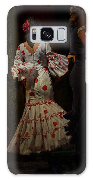 Flamenco Dancer #14 Galaxy Case by Mary Machare